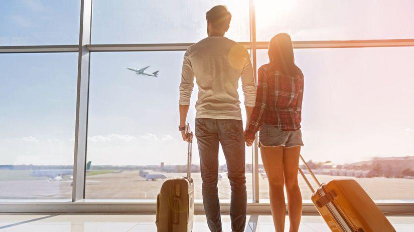 dovolenka, lietanie, letisko