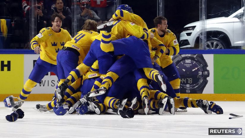 Švédsko, hokej