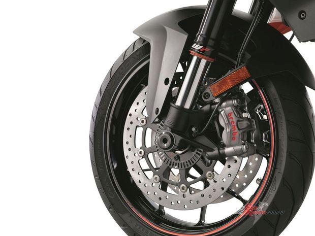 KTM - autonómne brzdy