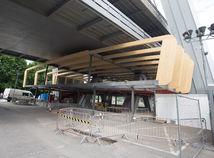 most SNP, vstup, stavba,
