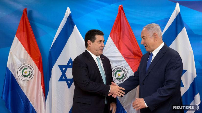 Paraguaj, Izrael