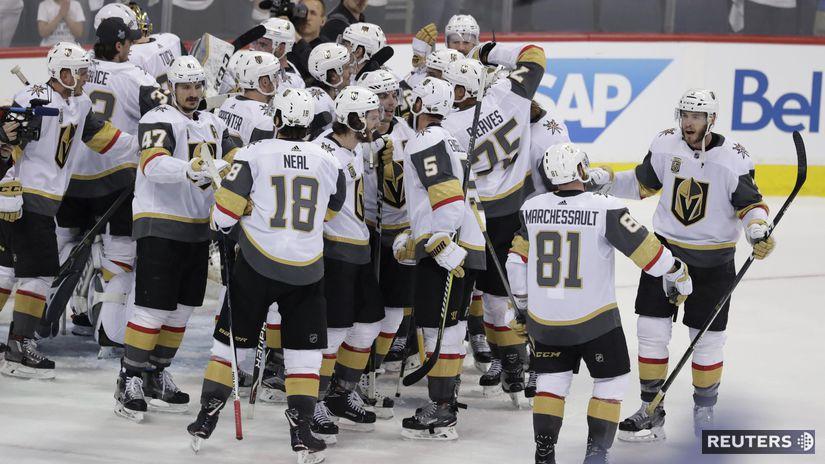 Vegas, radosť, NHL