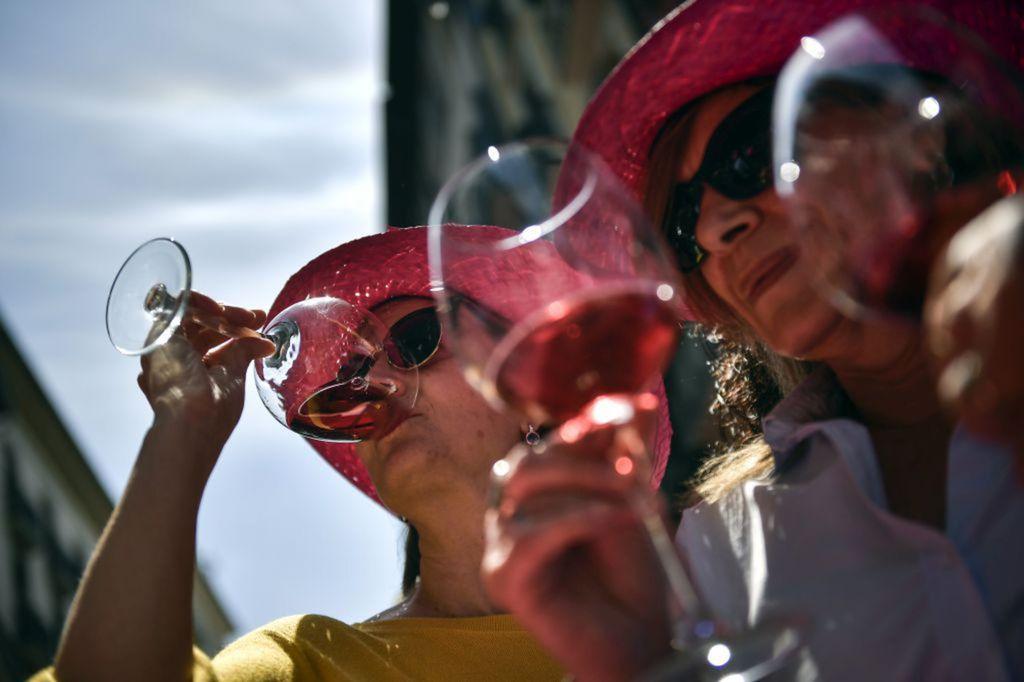 víno, Španielsko, ružové víno