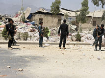 Afganistan, Kandahár, výbuch, mŕtvi, ranení