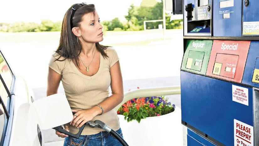 benzín, pumpa, tankovanie, nafta