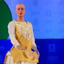 robot, robotka Sophia