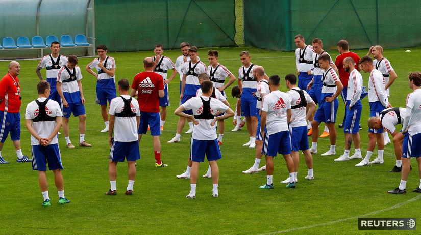 Ruskí futbalisti, tréning