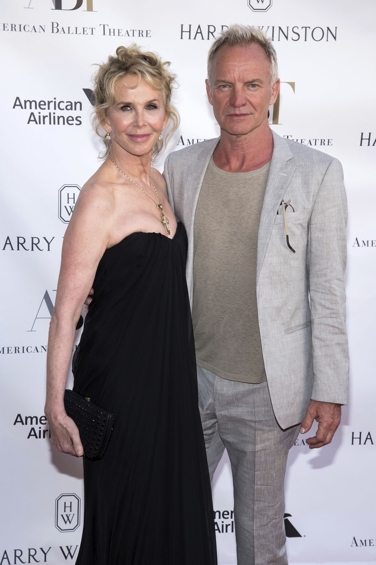 Trudie Styler a Sting