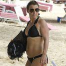 Coleen Rooney počas dovolenky na ostrove Barbados.