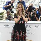 Herečka Kelly Preston na zábere z filmového festivalu v Cannes.