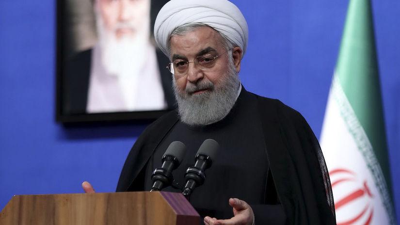 Iránsky prezident Hasan Rúhaní