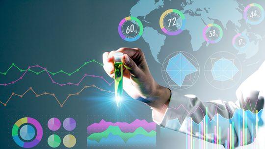 štatistika, výskum, objav, skúmavka