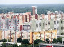 Bratislava, mesto, pohlad, petrzalka, panelak, sidlisko, nehnute