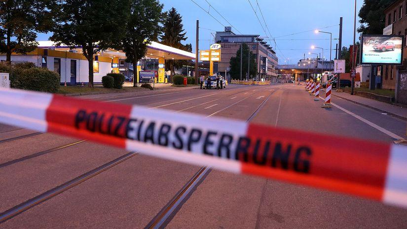 Nemecko, Drážďany, bomba, letecká, evakuácia,...