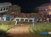 turín, vlakové nešťastie