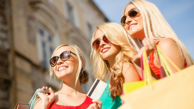 ženy, nákupy