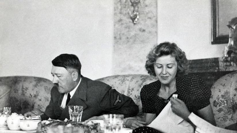 Adolf Hitler, Eva Braunová