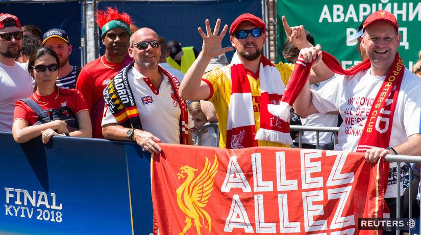 Liverpool, Kyjev, fanúšikovia