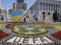 Ukrajina Futbal LM finále Liverpool Real