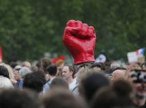 francúzsko, protest