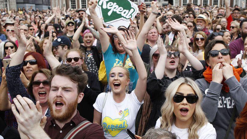 írsko, referendum, potraty