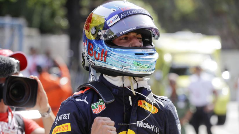 Monaco F1 Ricciardo