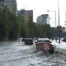 Prudké búrky zasiahli Poprad a komplikovali dopravu, zasahovali aj hasiči