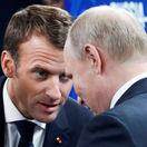 putin, macron
