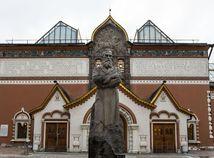 Vandal poškodil obraz Ivana Hrozného v moskovskej Tretiakovskej galérii