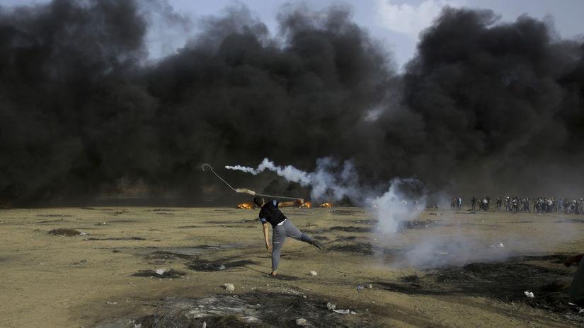 izrael, palestína, pásmo gazy