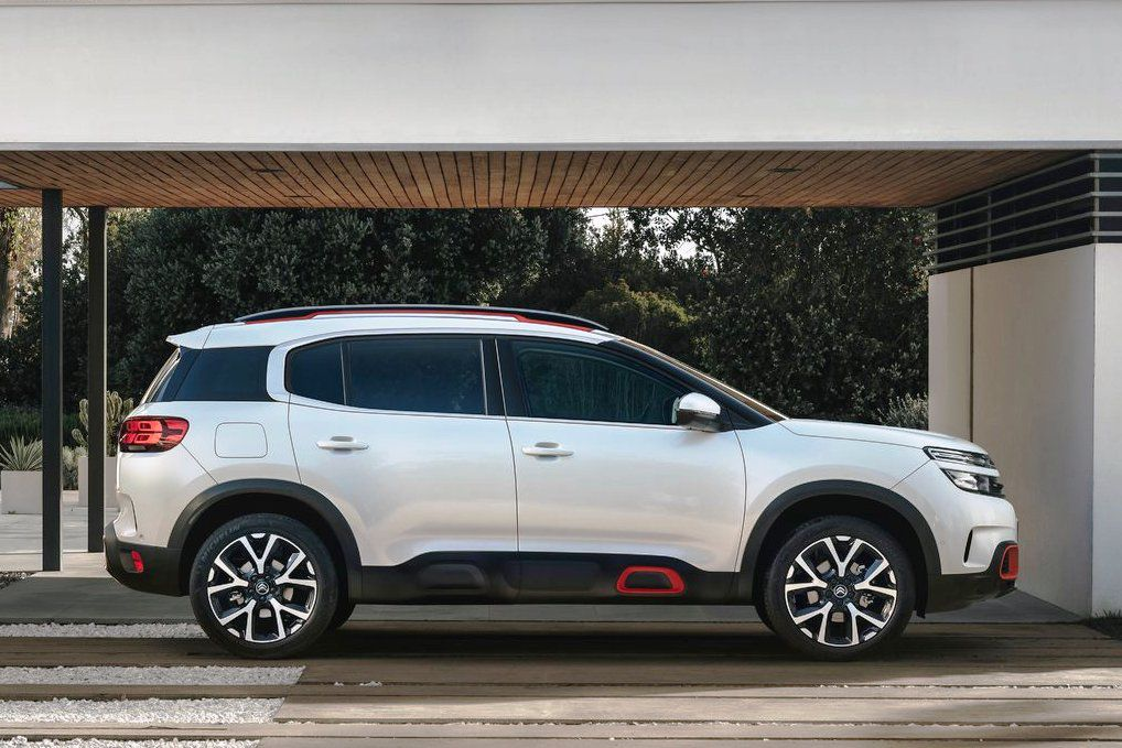 Citron C5 Aircross Nov Crossover Prichdza Do Eurpy Aj Ako Phev