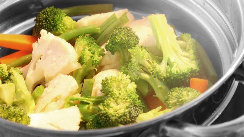 zelenina, blanšírovanie, mrazenie