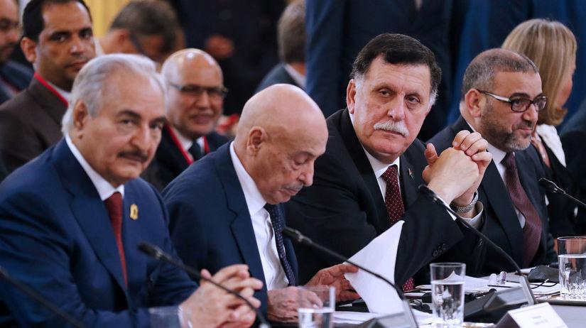 Líbya, konferencia