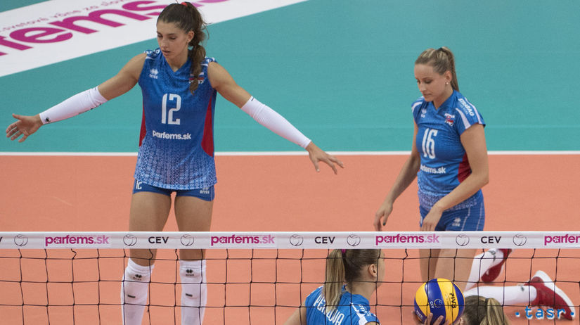 SR Volejbal Zlatá európska liga ženy