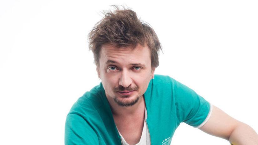Herec a hudobník Dano Heriban.