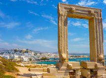 Malé Kyklady, Grécko, zrúcaniny, ruiny, more