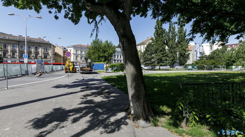 SR Bratislava Landererov park revitalizácia...