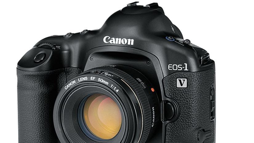 Canon, EOS 1V, analógový fotoaparát