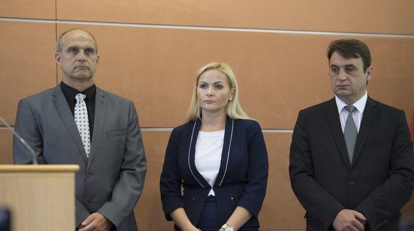 Milan Lučanský, Jana Maškarová, Róbert Bozalka