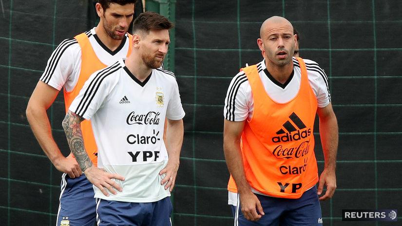 Lionel Messi, Javier Mascherano