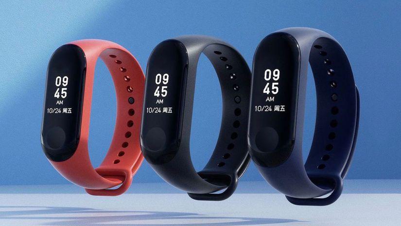 Xiaomi, Mi Band 3, inteligentný náramok
