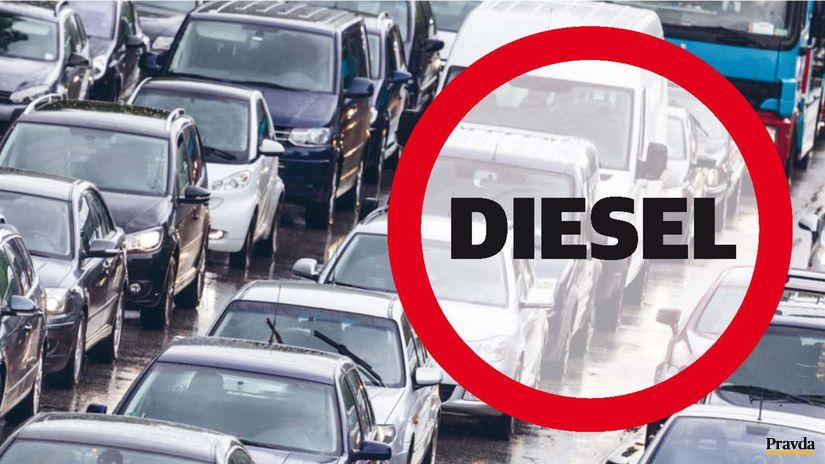 Diesel - stop