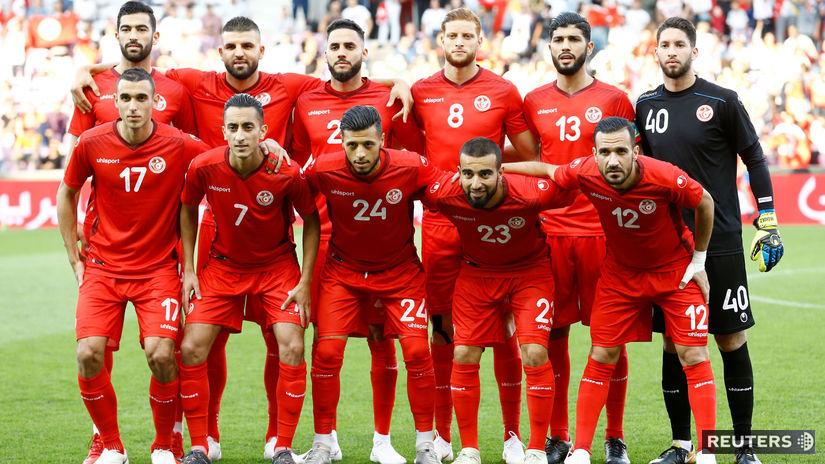 Tunisko, futbal, jedenástka