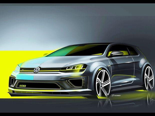 VW Golf R 400 Concept - 2014