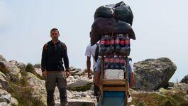Nosiči, šerpovia, Vysoké Tatry, náklad, turistika, horsky nosic, vynaska, zsobovanie