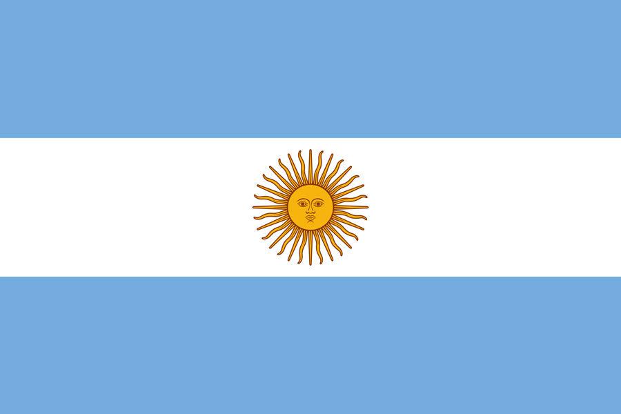 Argentína, vlajka