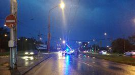 Bratislava prívalové dažde počasie