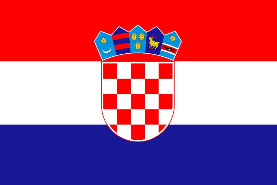 Chorvátsko, vlajka