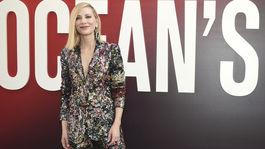 Herečka Cate Blanchett v kreácii Missoni.