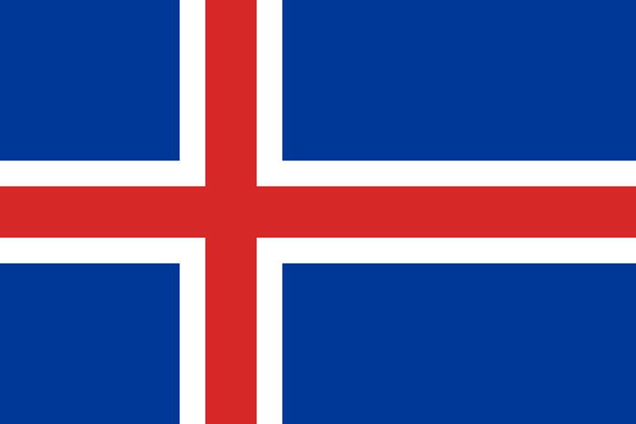 Island, vlajka